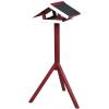 Trixie Madár Etető Fa 46x22x44cm/1,15m Piros/Fehér
