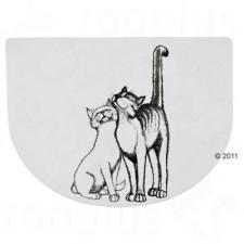 Trixie Ölelkező macska mintás tál alátét - 40 x 30 cm macskafelszerelés
