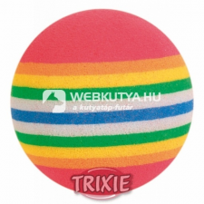 Trixie Szivárvány labdák 4 db (TRX4097) játék macskáknak