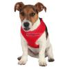 TRIXIE textil hám+póráz puppy szett 1x33-47/2 m Piros