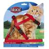 TRIXIE textilk hám+póráz cica XL