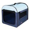 Trixie utazó box kék (50 × 50 × 60 cm )