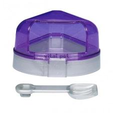 TRIXIE WC hörcsögnek sarok fedeles lapáttal 11x11x8 kisállatfelszerelés