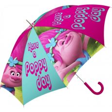 Trollok Gyerek félautomata esernyő Trolls, Trollok Ø84 cm