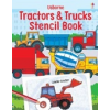 Trucks and Tractors Stencil Book