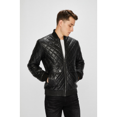 Trussardi Jeans - Bőrdzseki - fekete - 1353389-fekete