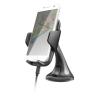 """Trust Autós telefontartó, vezeték nélküli töltővel, Qi szabvány,  """"Yudo"""""""