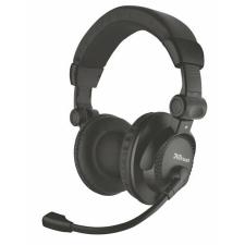 """Trust Fejhallgató, mikrofonnal, vezetékes, 3,5 mm jack, TRUST """"Como"""", fekete fülhallgató, fejhallgató"""