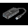 Trust Oila 4-portos USB hub, USB3.1, fekete