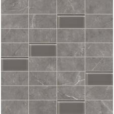 TUBADZINcsempékpadlólapok TUBADZIN GOBI Grey 30,3x30,8 Fürdőszoba mozaik járólap