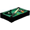 Tuin Mini pool biliárd felszereléssel 51 x 31 x 10 cm - fekete