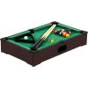 Tuin Mini pool biliárd felszereléssel 51 x 31 x 10 cm - sötét