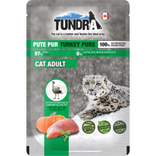 Tundra Cat Turkey Pure nedves eledel 85 g macskaeledel