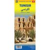 Tunézia és Líbia térkép - ITM