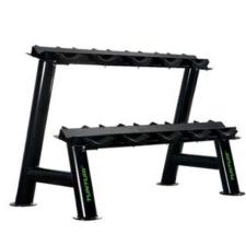 Tunturi Pro 2 soros kézisúlyzó tartó állvány (10 párhoz) súlytartó állvány