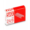 Tűzőgépkapocs SAX 24/6 cink 1000 db ISAK246