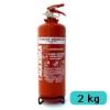 . Tűzoltó készülék (ABC porral oltó) - 2 kg