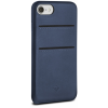 Twelve South Relaxed Leather Case with Pockets for iPhone 8 kék