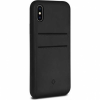 Twelve South Relaxed Leather Clip bőr tok iPhone X - fekete