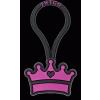 Twigo Tag Royalty szilikon biléta - lila