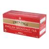 """TWININGS Fekete tea, 25x2 g, TWININGS """"English Breakfast"""""""
