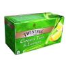 """TWININGS Zöldtea, 25x1,6 g, TWININGS """"Green Tea & Lemon"""""""
