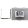 U-alakú műanyagelem tűzőkapocs, 0.8mm, 100 darab, BGS 873 műanyag javítókészlethez (BGS 873-2)