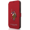"U.S. POLO ASSN. US Polo USFLBKP12SPUGFLRE iPhone 12 mini 5,4"" piros könyv Polo Embroidery Collection telefontok"