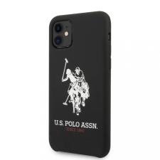 U.S. Polo tok fekete (USHCN61SLHRBK) Apple iPhone 11 készülékhez tok és táska