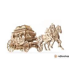 UGEARS Lovaskocsi – mechanikus modell kreatív és készségfejlesztő