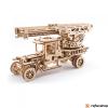 UGEARS Tűzoltóautó mechanikus modell