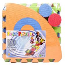Ugróiskola habszivacs 10 darabos szonyeg puzzle puzzle, kirakós