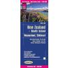 Új-Zéland (Délii sziget) térkép - Reise Know-How