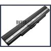UL30A-X1 4400 mAh 8 cella fekete notebook/laptop akku/akkumulátor utángyártott