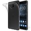Ultra Slim Nokia 6  0.3 mm szilikon hátlap tok, átlátszó