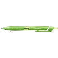 """UNI Golyóstoll, 0,35 mm, nyomógombos, UNI """"SXN-150C Jetstream"""", világoszöld toll"""