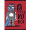 """UNIPAP Füzet, tűzött, A5, kockás, 32 lap,  """"Robot"""""""
