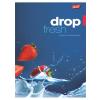 """UNIPAP Füzet, tűzött, A5, kockás, 96 lap,  """"Fresh Fruit"""""""