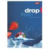 "UNIPAP Füzet, tűzött, A5, vonalas, 96 lap, UNIPAP ""Fresh Fruit"""