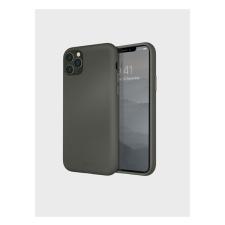 Uniq Lino Hue Apple iPhone 11 Pro Max, szilikon tok, szürke tok és táska