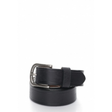 United Colors of Benetton Man Black Leather Belt (6G0KUB0D6-700-XL)
