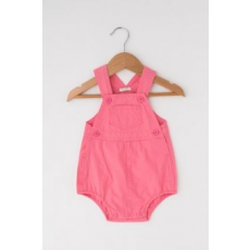 United Colors of Benetton , Zsebes overall, Rózsaszín, 1-3M Standard (4AY358T5E-3R5-56)