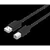Unitek kábel USB 2.0; 3m; Y-C420GBK