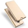 UniverTel Dux Ducis Huawei Mate 10 Lite Skin Leather oldalra nyíló bőr tok, arany