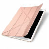 UniverTel Dux Ducis iPad Pro 12,9 Skin Leather oldalra nyíló bőr tok, rose gold