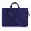 """Univerzális laptop táska, 13""""-os készülékhez, hosszú oldal zseb, vállpánttal, Iralan, sötétkék"""