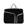 """Univerzális laptop táska, 15""""-os készülékhez, ívelt zseb, Iralan, fekete"""