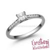 Úristen, házasodunk! E110FZF_C - FEHÉR ZAFÍR - CIRKÓNIA köves fehér arany Eljegyzési Gyűrű