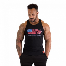 USA TANKTOP (BLACK) [S]