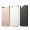 USAMS Apple iPhone 6 Plus, USAMS Metallica oldalt átlátszó, hátul fémes hatású TPU tok, ezüst